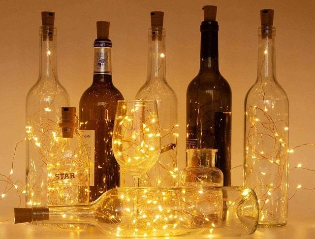chai lọ thủy tinh handmade trang trí cực yêu