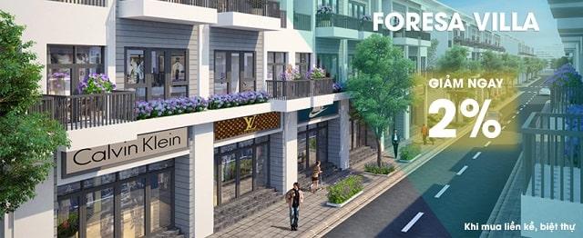 mua bán khu đô thị Forest Villa Xuân Phương