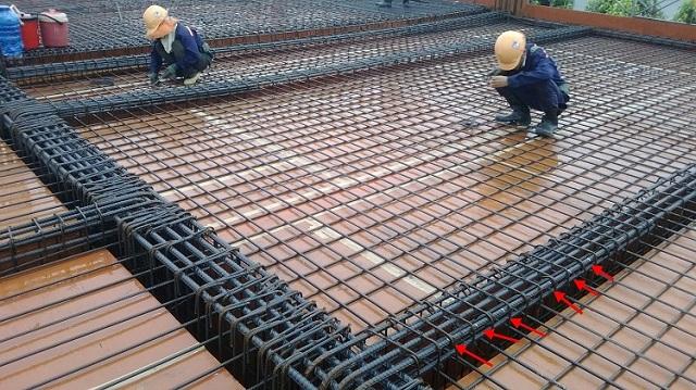 cấu tạo sàn bê tông cốt thép