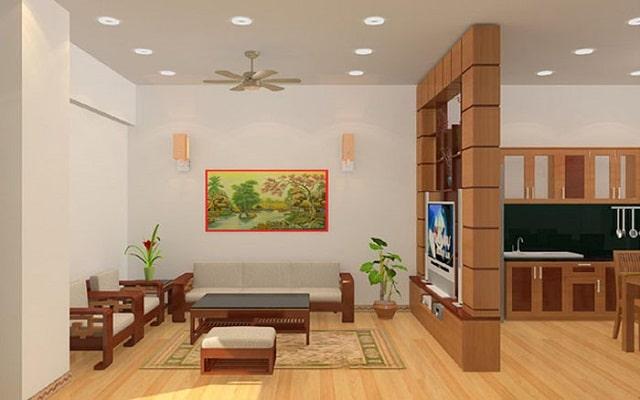 thiết kế phòng khách và bếp liền nhau (3)